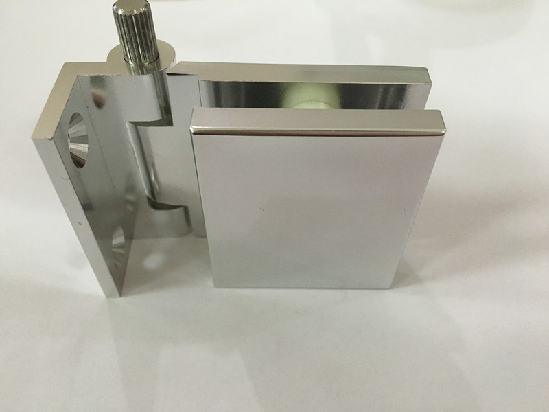 Aluminium CNC machining Hinges for glass door